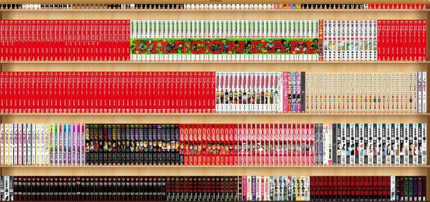 ebookjapanの本棚の画像
